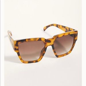 Free people holiday in the sun square Sunglasses